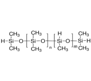 Hydrogen terminated methylhydrogensiloxane dimethylsiloxane copolymer